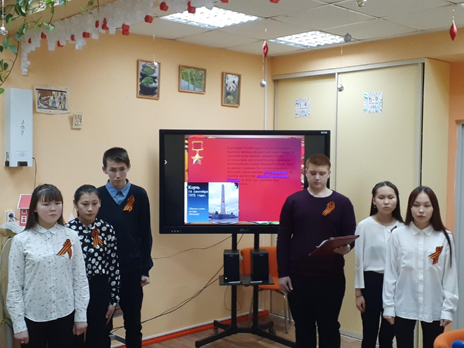 Восьмиклассники аксарковской школы в числе лидеров